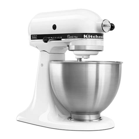Kitchenaid  Ksm75wh  Classic Plus 45 Quart Stand Mixer