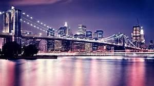 Night scene of beautiful city area wallpapers HD