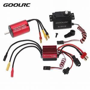 Goolrc Rc Car Parts S2838 4500kv Brushless Motor 35a Esc 3