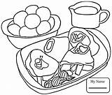 Coloring Pages Steak Fries Mcdonalds French Cartoon Drawing Meat Template Getcolorings Printable Getdrawings sketch template