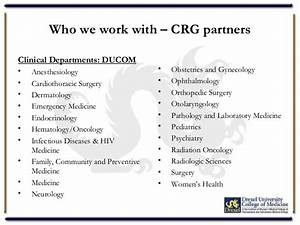 Clinical Research Group