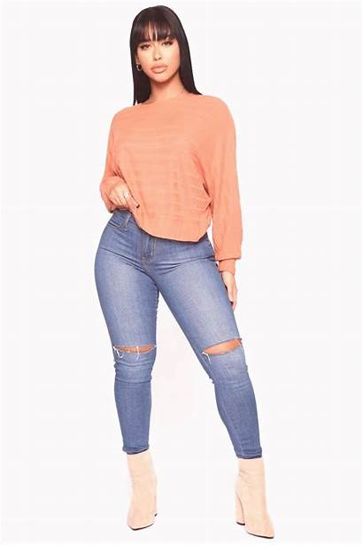 Ripped Jeans Mujeres Negras Skinny Moda Between