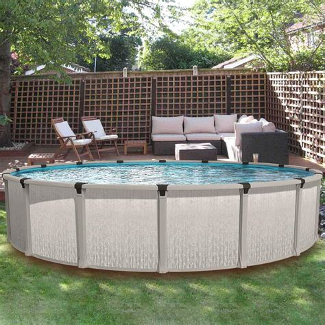 Eternia 21 ft Round Above Ground Pool - Pool Supplies Canada