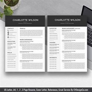 Resume Template On Microsoft Word Best Selling Ms Office Word Resume Cv Bundle The