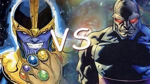 Thanos Vs Darkseid - Comic Clash S2E5 - Season 2 Finale ...
