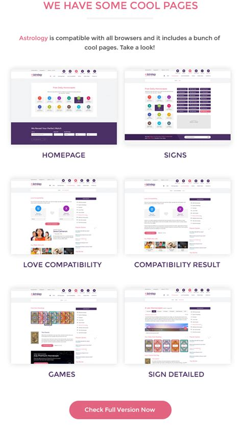 Themes Templates For 2 Items Per Product Page by Astrology Bootstrap Html Template By Lcrm Themeforest