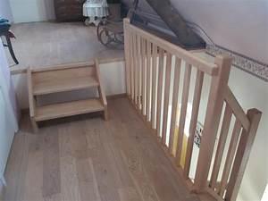 Escalier En U : escalier bois avec palier les ateliers du marais ~ Farleysfitness.com Idées de Décoration