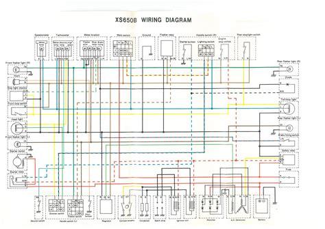 1978 yamaha xs650 wiring diagram 32 wiring diagram