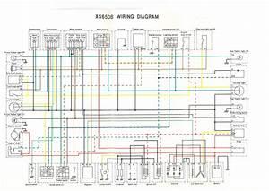 Wiring Diagram For 1973 Yamaha Xs650