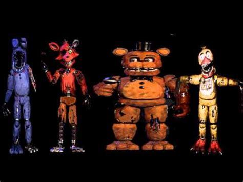 ii fnaf song ii  withered animatronicss voices youtube