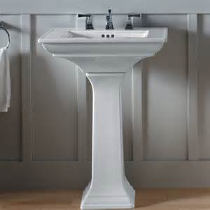 kohler memoirs stately 24 quot pedestal bathroom sink