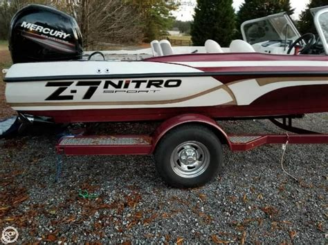 2016 Nitro Bass Boats For Sale by 2016 Used Nitro Z 7 Sport Bass Boat For Sale 33 400