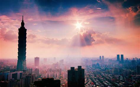 Landscape Cityscape Taipei 101 Wallpapers Hd Desktop