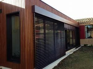 brise soleil maison bois ventana blog With exposition d une maison 3 realisations douglas bois les charpentiers constructeurs