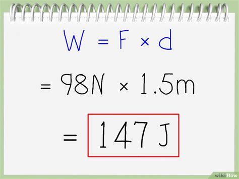 joules berechnen wikihow