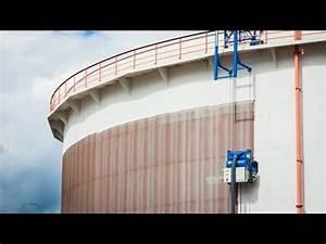 Above Ground Storage Tank Cleaning Steel Storage Tank Blastrac Ebe 900vmb