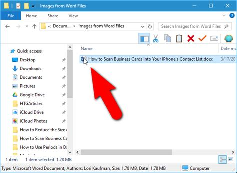 extract images text  embedded files  word