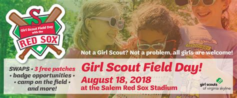 girl scout field day salem red sox