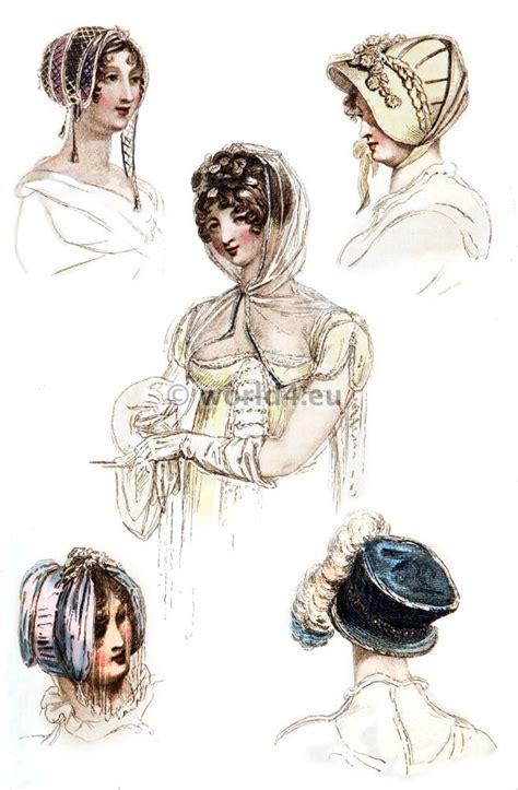 hair styles the regency fashion 1808 1815 costume history 1809