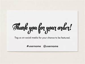 7 business thank you cards free sample example format for Business thank you card template