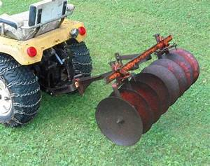 Ford Lawn Tractor Disc Harrows