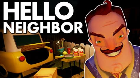 stealing food hello neighbor alpha 3 moments and fails