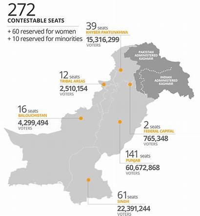 Pakistan Map Cartogram Understanding Contestable Grabs Elections