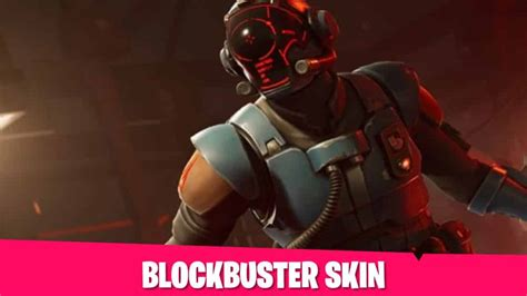 fortnite battle royale season  blockbuster skin gaming