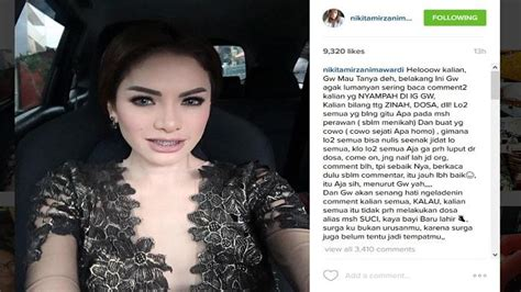 Tak Tahan Dibully Nikita Mirzani Ngamuk Instagram Dan