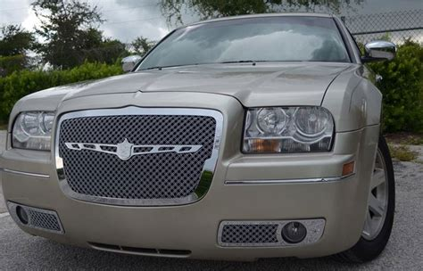 Chrysler 300 Grill by 2013 Chrysler 300 Srt8 Chrome Bentley Dual Weave Mesh Grille