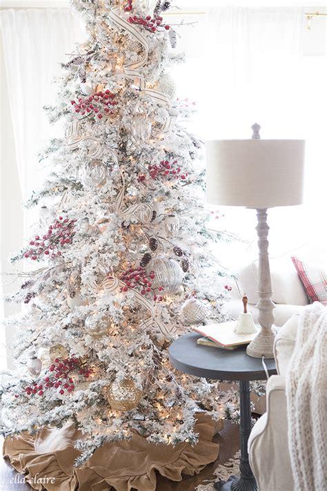 christmas tree family room farmhouse holiday series