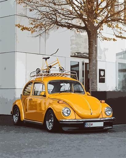 Beetle Vw Cars 4k Unsplash Wallpapers Yellow