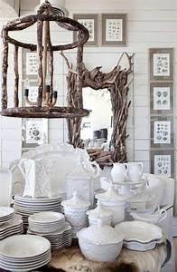 Lustre En Bois Flotté : miroir cadre bois un accessoire la fois pratique et esth tique ~ Teatrodelosmanantiales.com Idées de Décoration