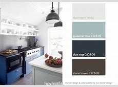 this week's color palette seaside blues and white in my