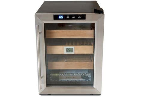 Cigar Cabinet Humidor Canada by The Clevelander Electronic Cigar Cooler Humidor Ebay