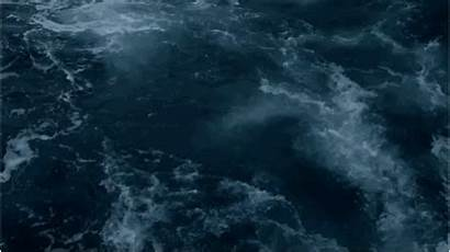 Aesthetic Gifs Ocean Sea Dark Water Anime