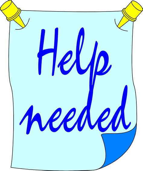 Image result for help needed clip art