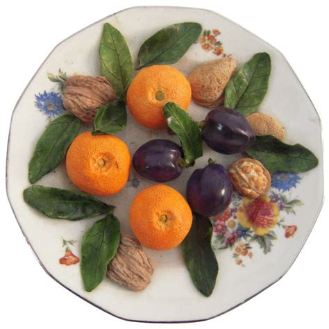 trompe l oeil cuisine a tromp l 39 oeil ceramic food plate at 1stdibs