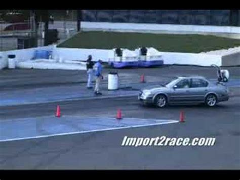 nissan maxima race car nissan maxima vs tranz am drag racing nj youtube