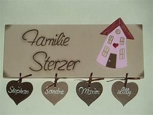 Türschild Familie Holz : t rschild familient rschild namensschild tier von ~ Lizthompson.info Haus und Dekorationen