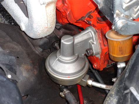 common mechanical fuel pump problems
