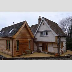 Hempcrete Panel Infill And Solid Walls To Grade Ii Listed C17 Cottage With New Build Timber