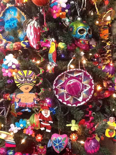 mexican christmas decorations ideas mexican tree decorations mexico mexican decorations
