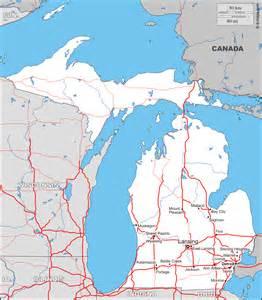 Michigan: carte géographique gratuite, carte géographique ...