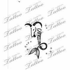 19 best Girly Capricorn Tattoos images on Pinterest ...