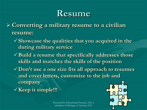 to civilian career transition