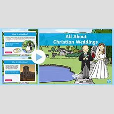 * New * Ks1 All About Christian Weddings Powerpoint