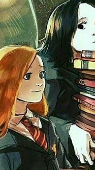 Lily and Severus - what a beautiful image! Personalities ...