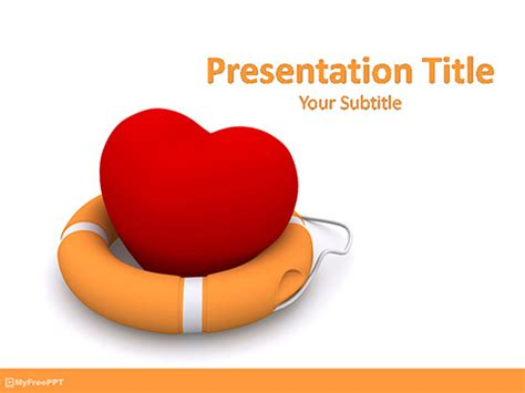 Free Cardiac Powerpoint Templates by Free Protection Powerpoint Template Free