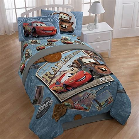 disney cars printed twinfull comforter bed bath